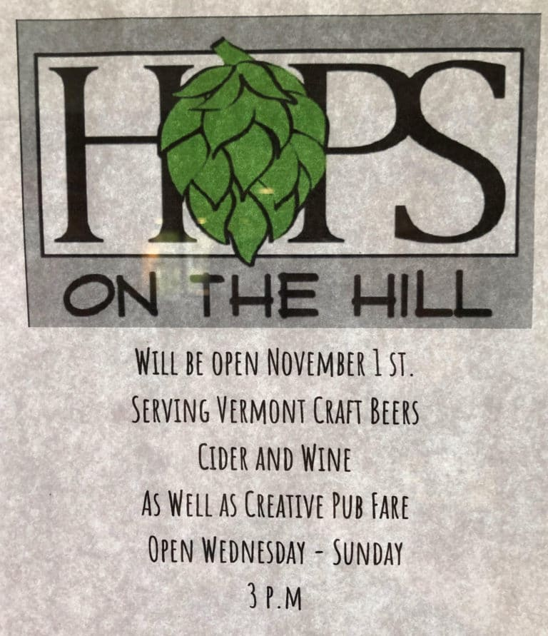 Hops on the Hill Killington Pub