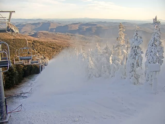 Snowmaking starts at Killington Resort